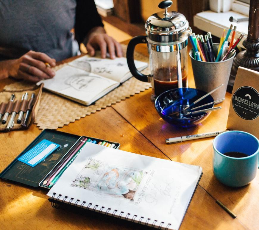 mental health creative post stress relief anxiety support brogliebox
